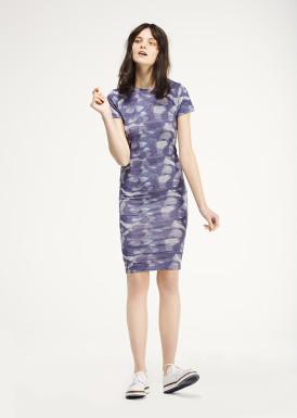 <p><span>Teedra</span> Printed jersey tee dress</p> thumbnail