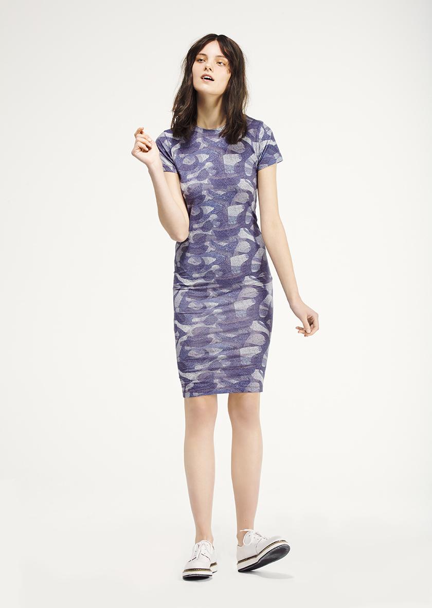<p><span>Teedra</span> Printed jersey tee dress</p>